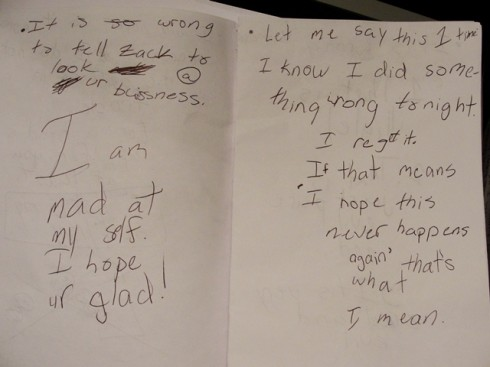 Apology note page 2