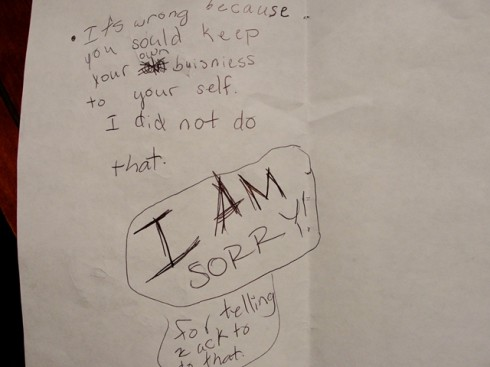 apology note page 3