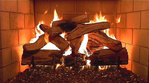 Duraflame fireplace logs