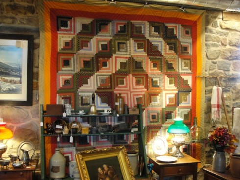 Old Quilt in shop