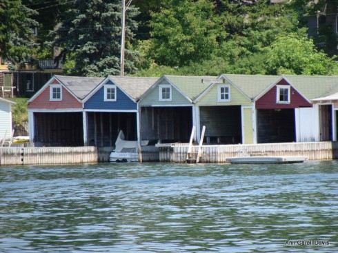 boat house at thousand island park